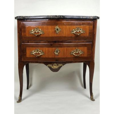 Small Transition Commode, Louis XV Period, 18th Century