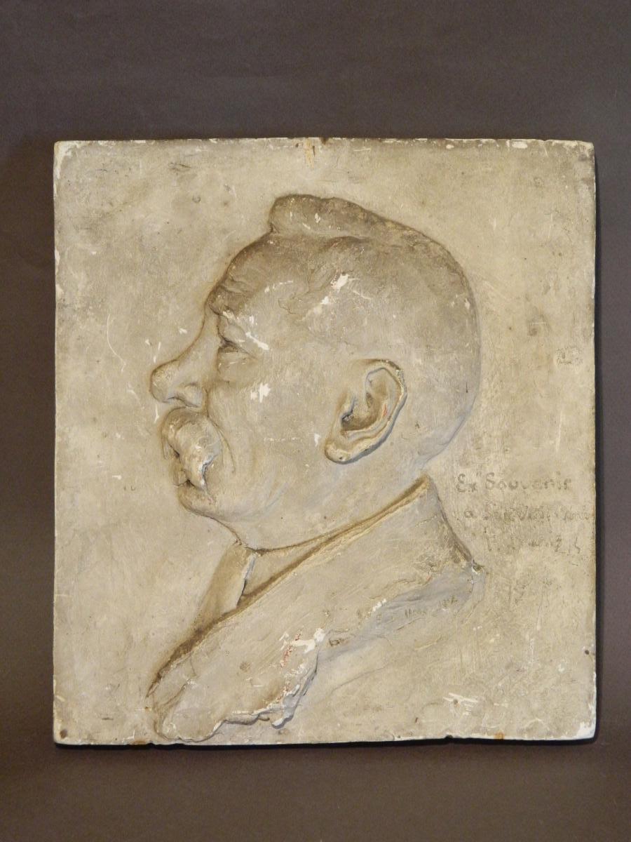 Portrait Of A Man, Plaster, 1902.