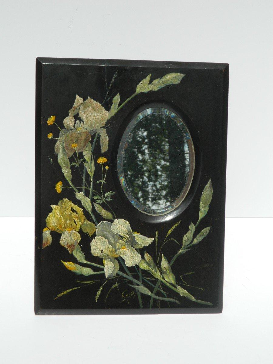 Spa Wood Painted Mirror-photo-4
