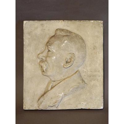 Portrait d'Homme En Plâtre, 1902.