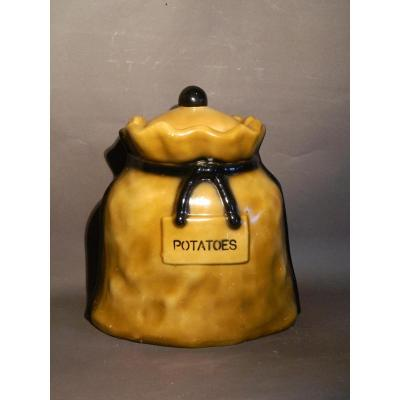 Large Potatoes Jar , Circa 1950