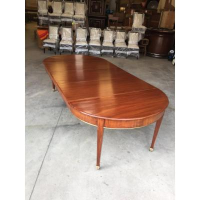 Louis XVI Mahogany Table