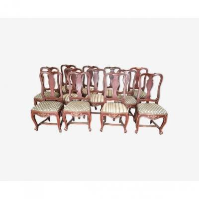 Suite Of Twelve Dutch Chairs