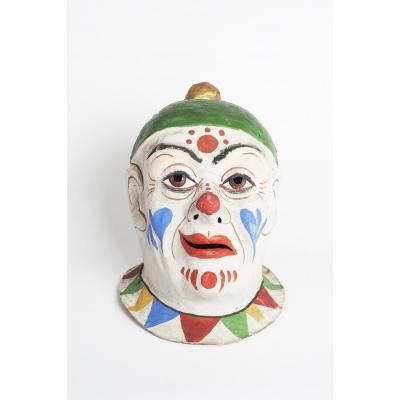 Masque De Carnaval d'Un Clown