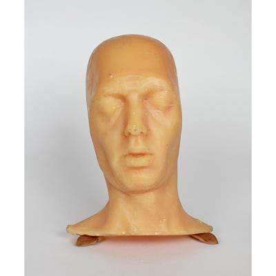 Masque Mortuaire En Cire, Premiere Moitié  20eme