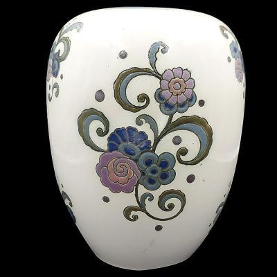 Vase Art Deco De La Manufacture De Nimy