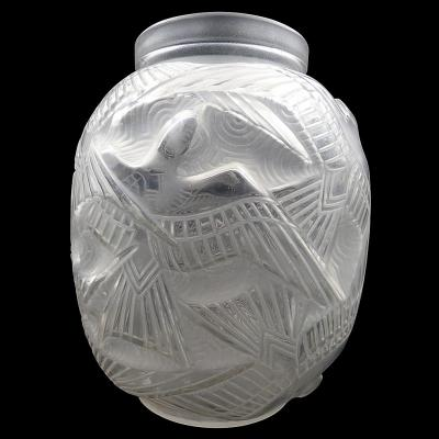 Vase Aux Oiseaux De Pierre Gire Alias d'Avesn