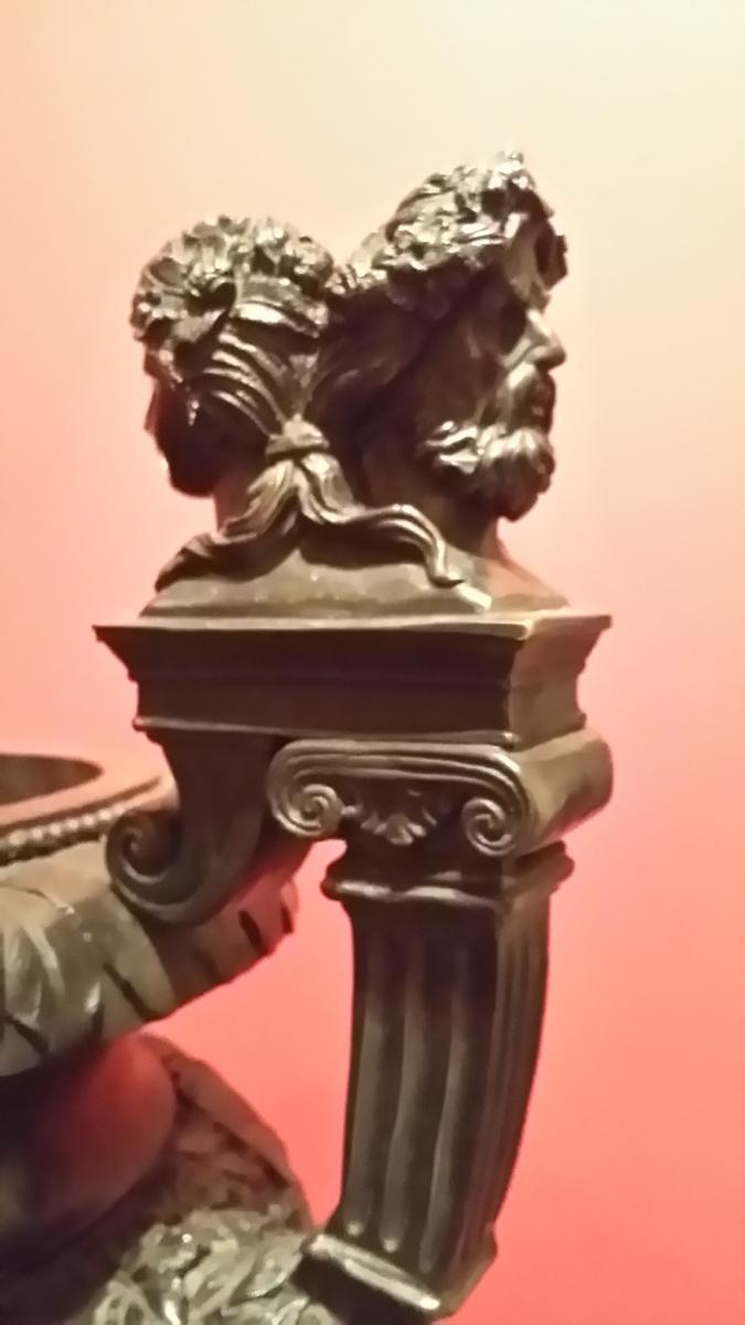 Vase Bronze Style Rome Antique -photo-3