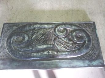 Georges Lacombe Bronze Relief Plaque