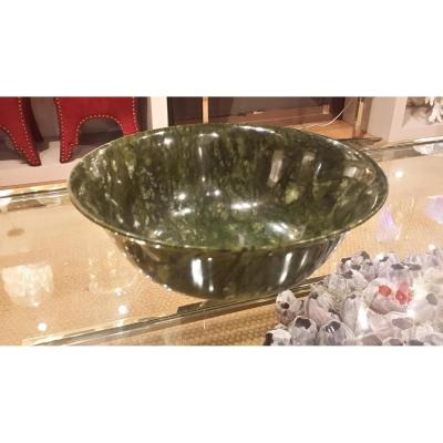 Coupe Monumentale En Jade Chine
