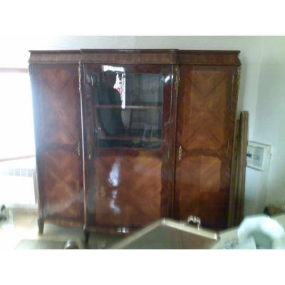 Armoire Style Louis XV Marqueterie