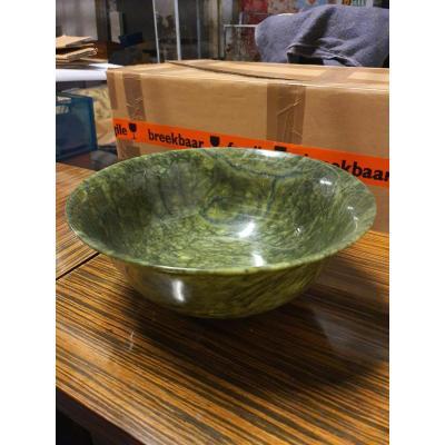 Vasque Boule En Jade 19 Eme Chine