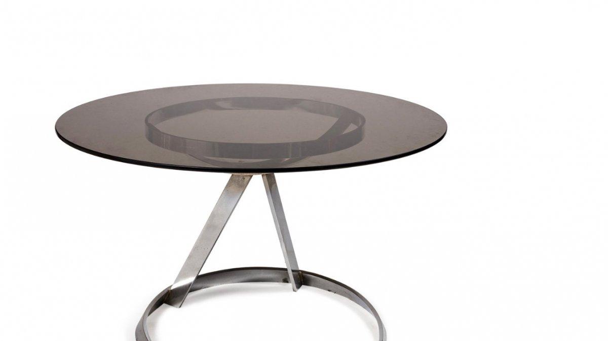 Grand Guéridon - Table à Manger - B. Tabakoff