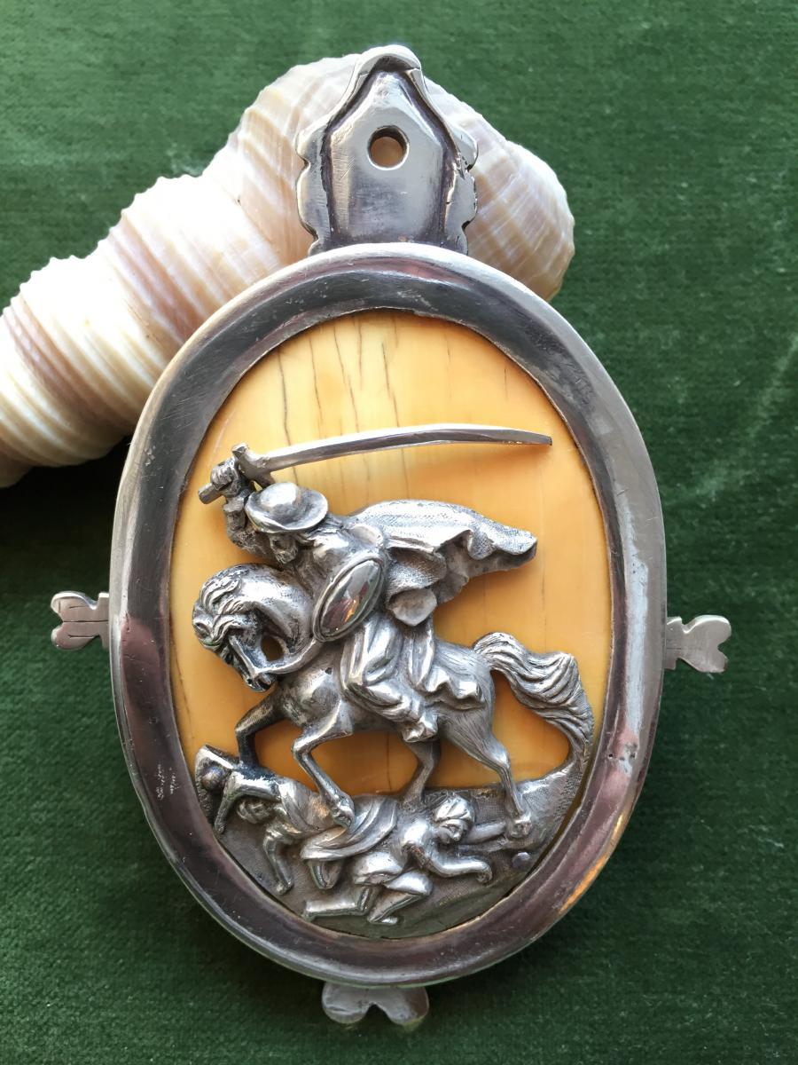 Medaille De Chevalier De Malte XVIII°