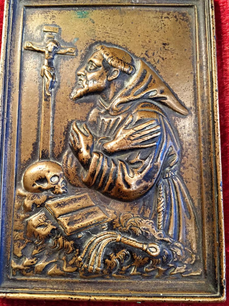 Bronze Plate Early Seventeenth