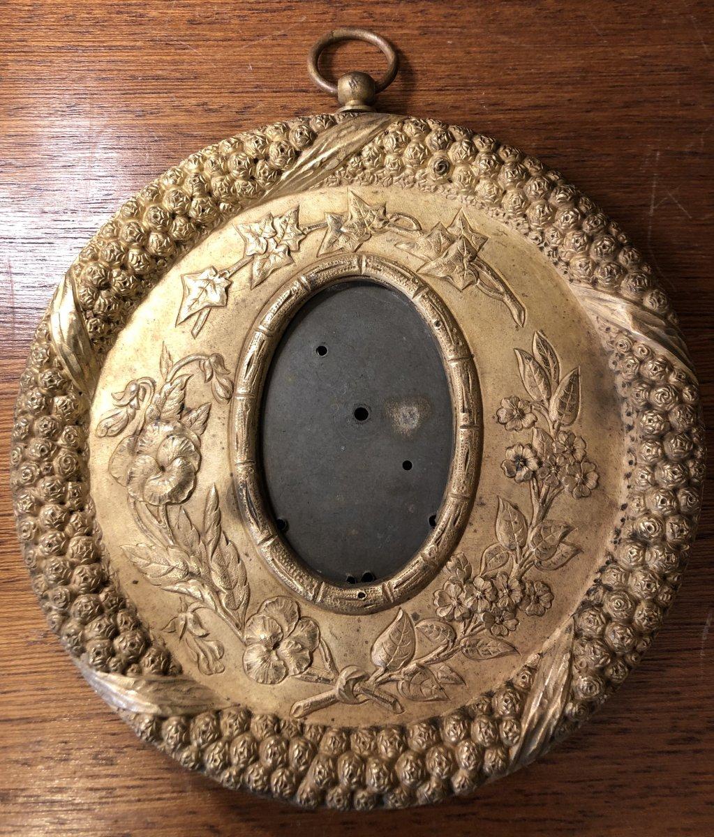 Cadre Bronze Doré,vers 1830-photo-2