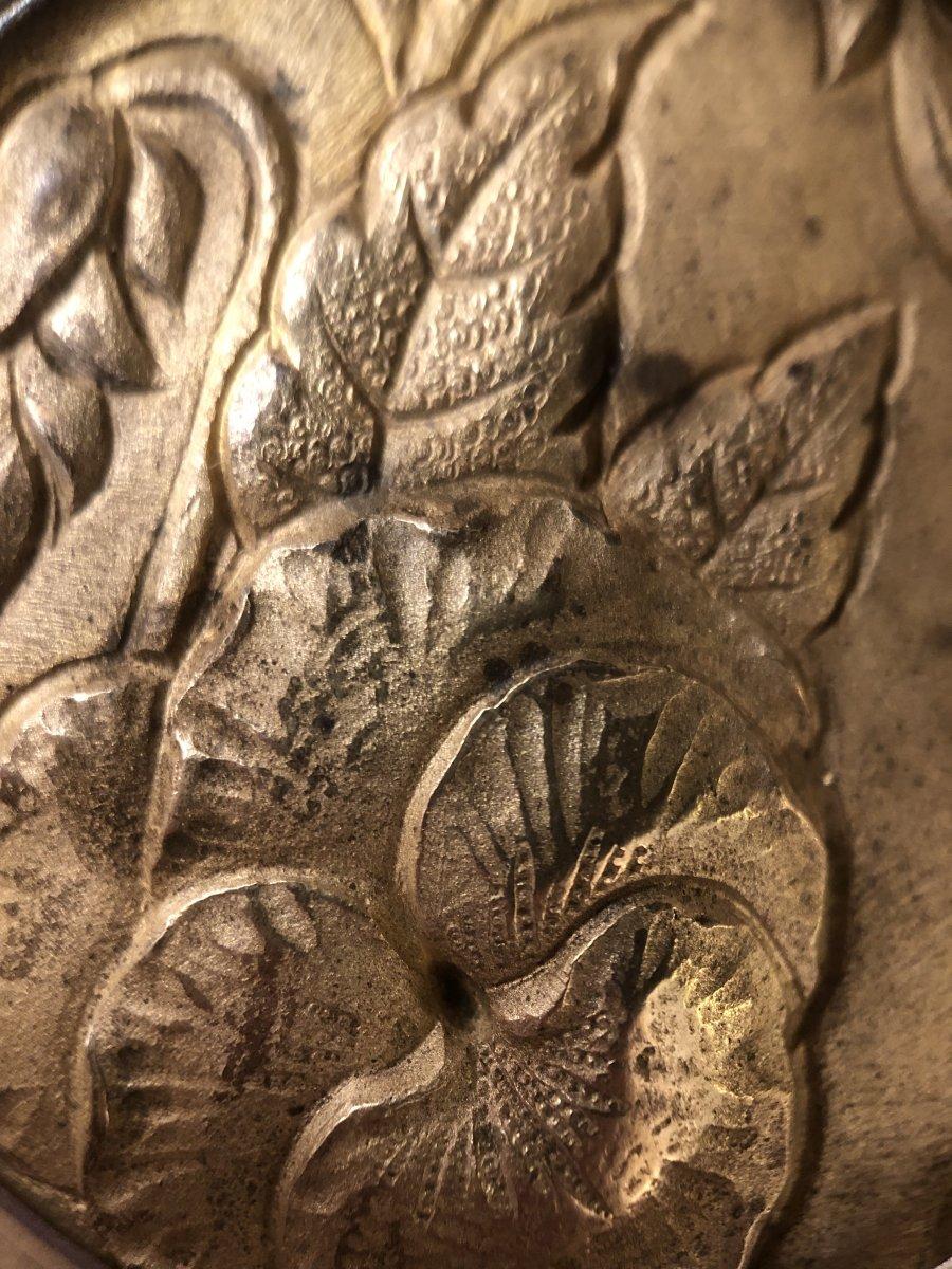 Cadre Bronze Doré,vers 1830-photo-5