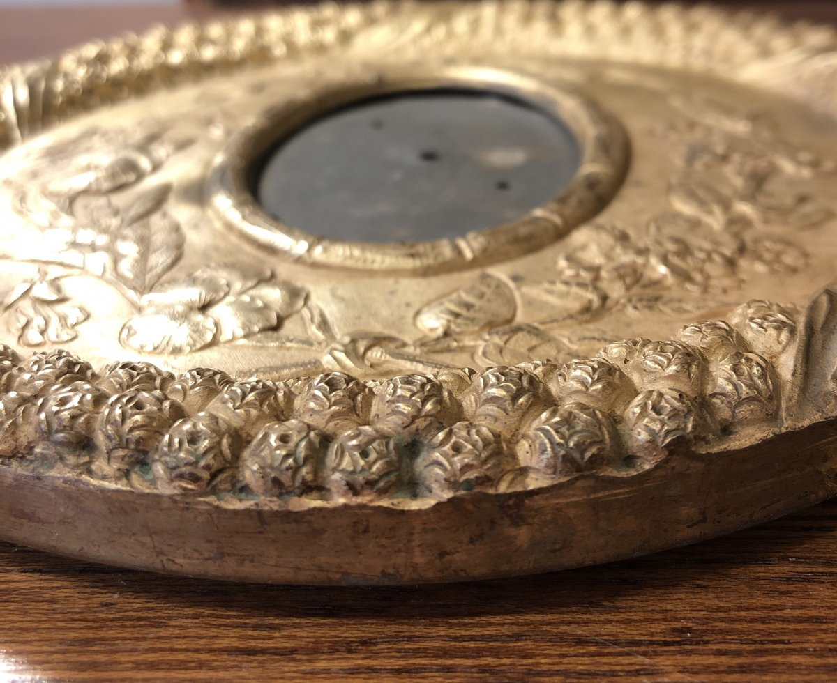 Cadre Bronze Doré,vers 1830-photo-7