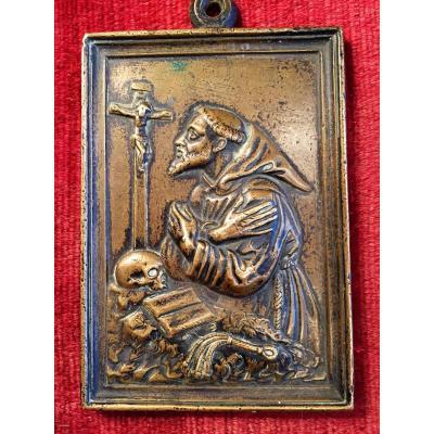 Plaquette  Bronze début XVII°
