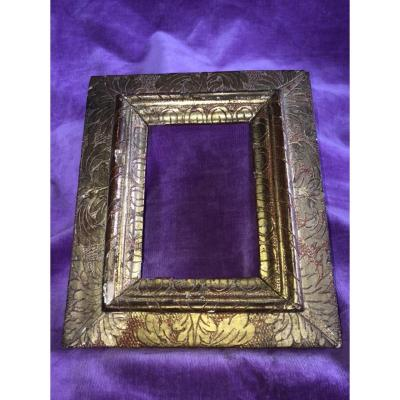17th Century Frame, Gilded Wood.