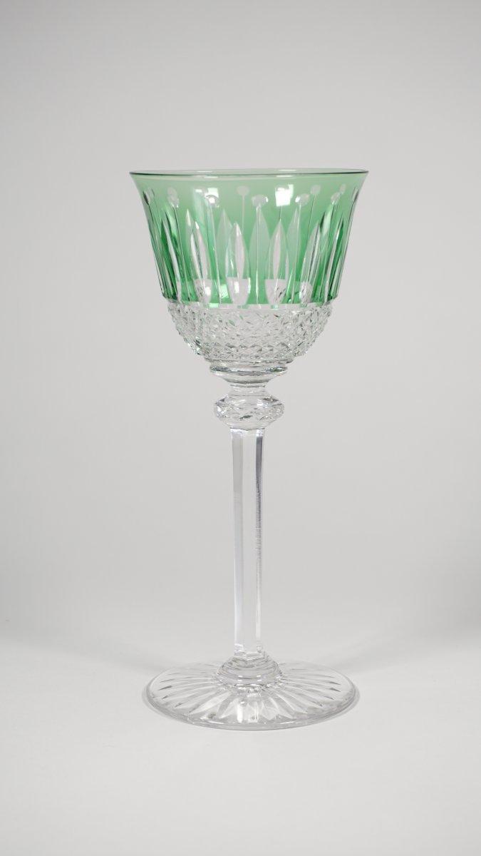 Grand Verre à Vin Du Rhin (roëmer) Cristal Saint Louis Modèle Tommy