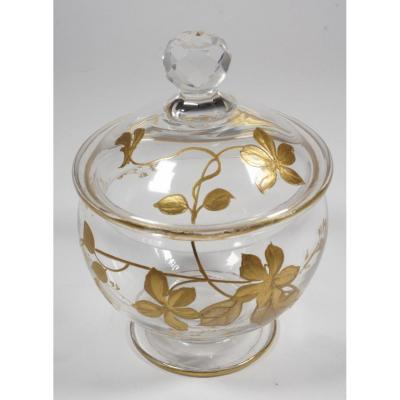 Baccarat Golden Enamelled Candy Bowl