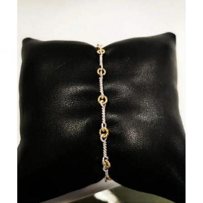 Bracelet Or Bicolour