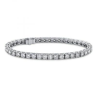 Bracelet Rivière  Avec Diamant