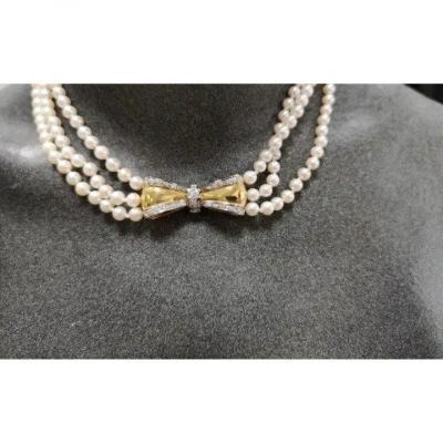 Collier De Perles Naturelles