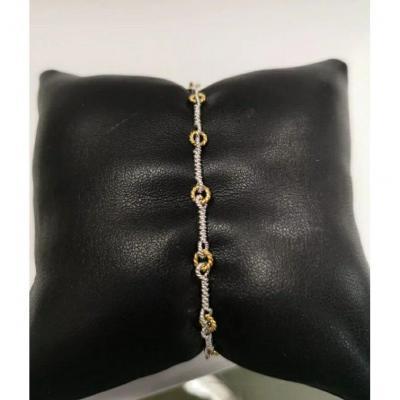 Bracelet Or Bicolor