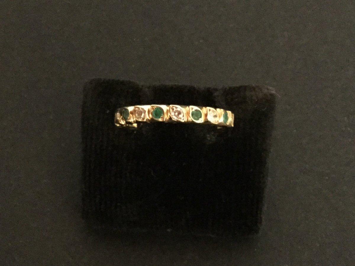 American Diamond Alliance, Yellow Gold Emeralds