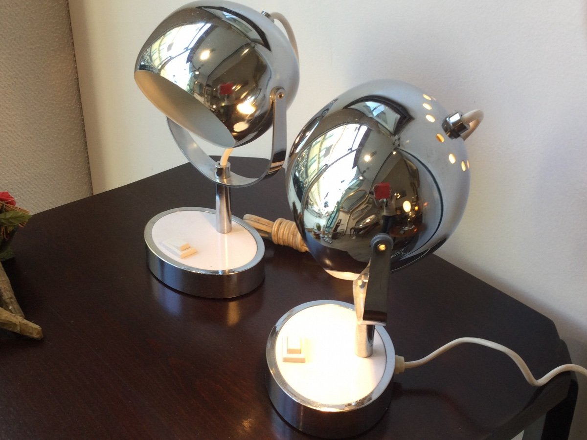 Pair Of Lamps 1960/1970-photo-4