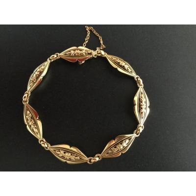Old Gold Filigree Bracelet