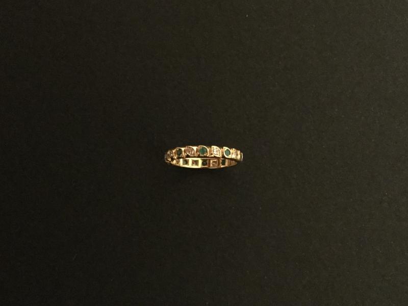 American Diamond Alliance, Yellow Gold Emeralds-photo-2
