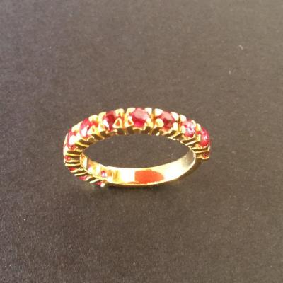 American Ruby Fine Alliance In Yellow Gold