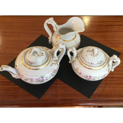 Paris Porcelain Service 3 Pieces
