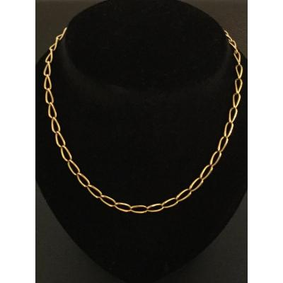 Yellow Gold Pocket Watch Chain
