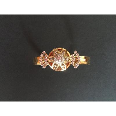 Montre Bracelet Diamants En Or 18 Kts