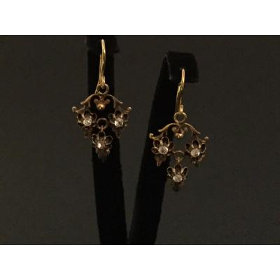 Provençal Earrings In Yellow Gold