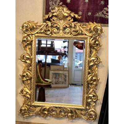 Miroir Italien 19 Iem Siècle