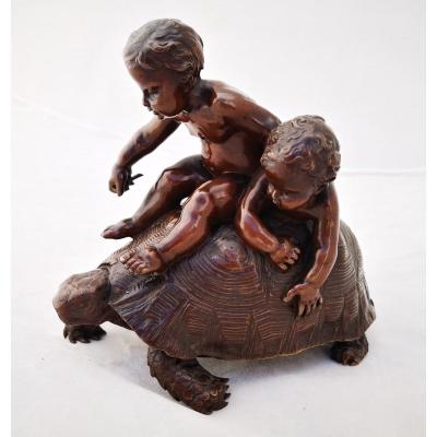 Barrias- Bronze Turtle