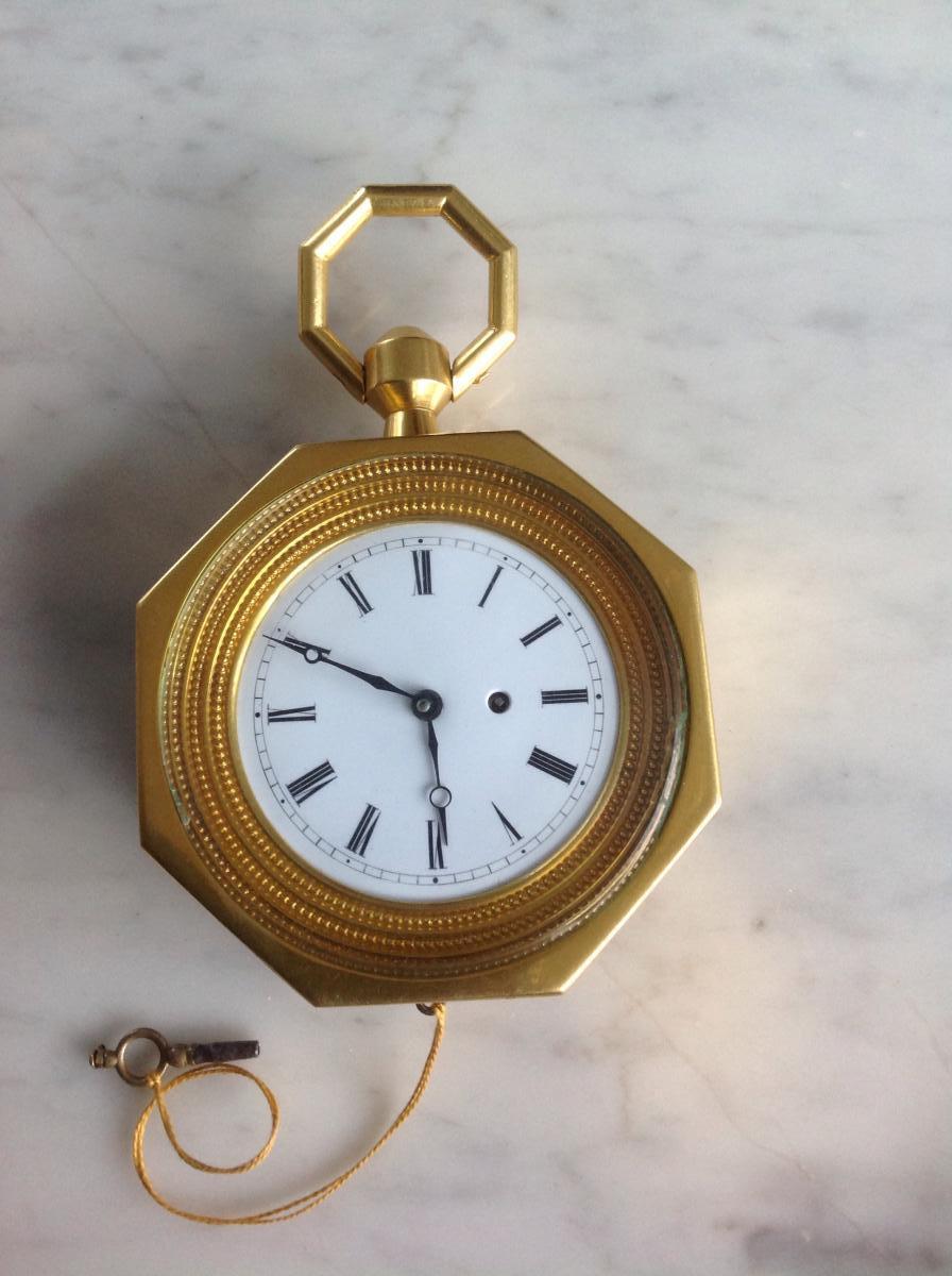 Pendule De Carrosse Ou d'Alcove Fin XVIII Début XIX