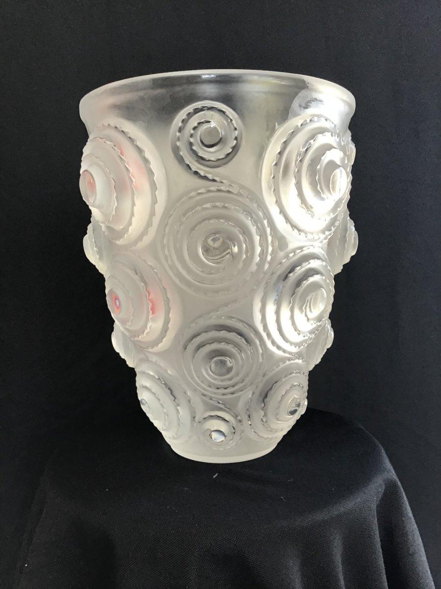 Grand Vase Lalique XXl Spirales