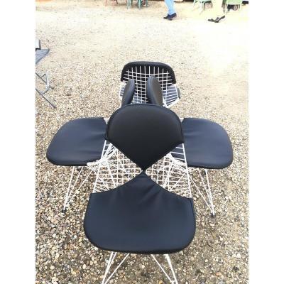 Série De 4 Chaises Eames