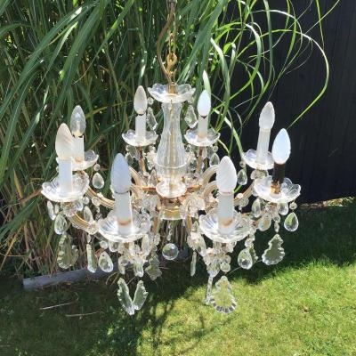 Crystal Chandelier Early XX