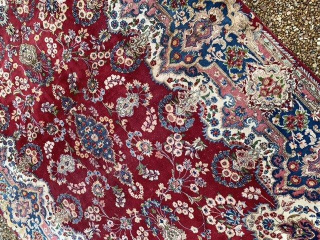 Grand Tapis Persan Kashan 4mx2m65-photo-4