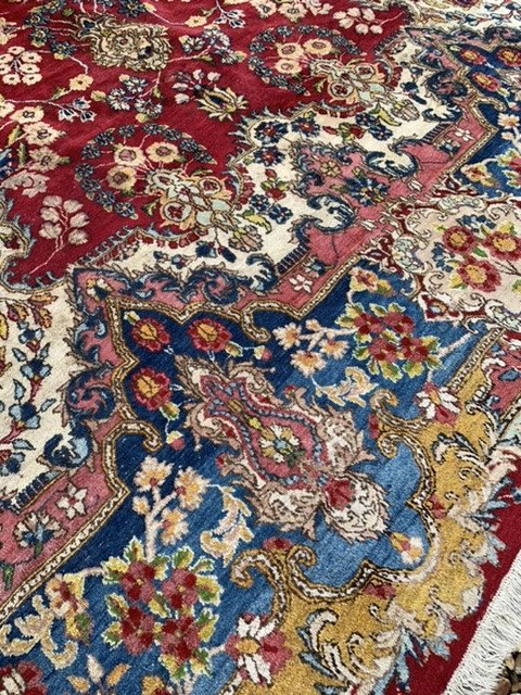 Grand Tapis Persan Kashan 4mx2m65