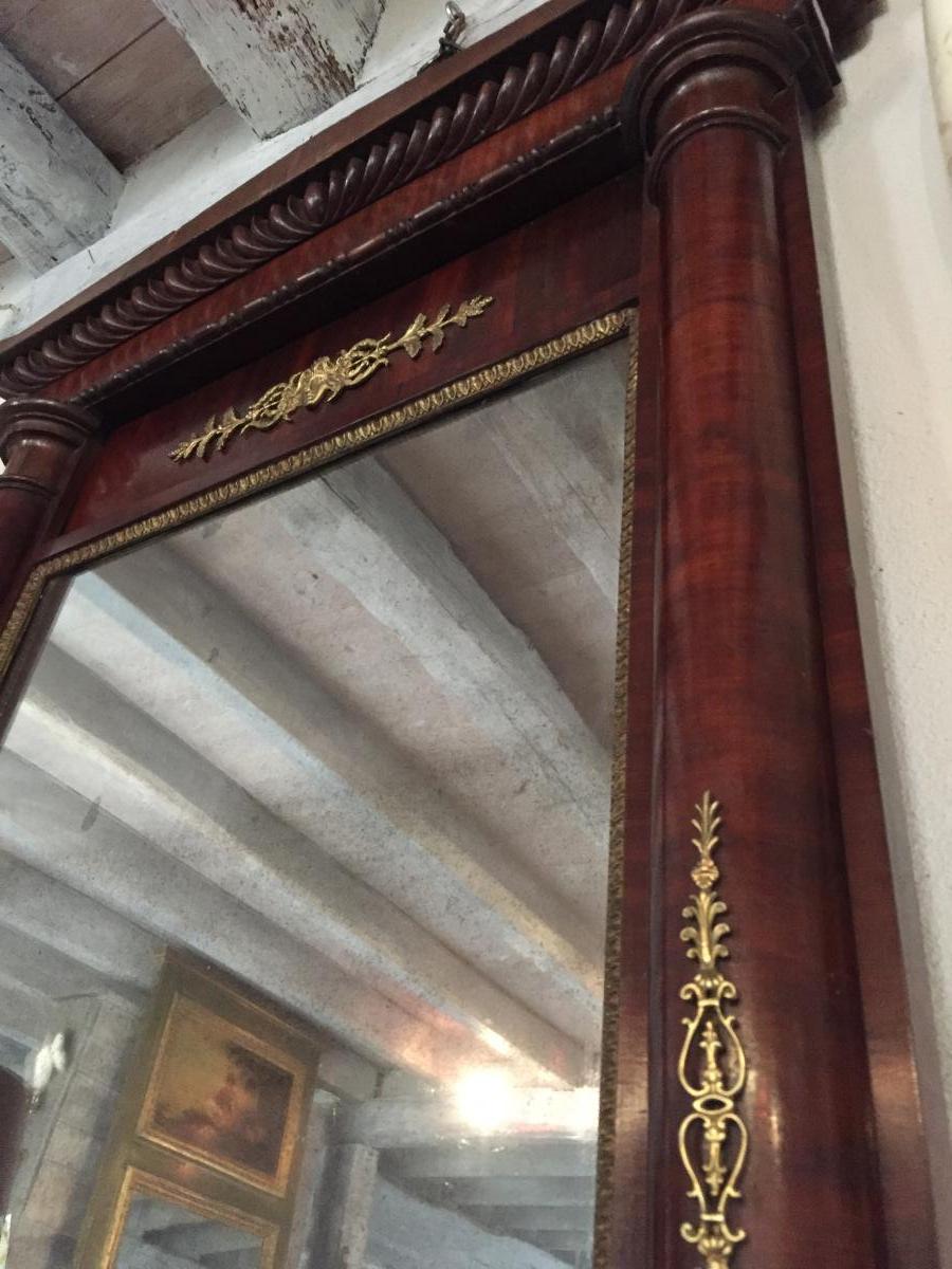 Miroir De Parquet Empire