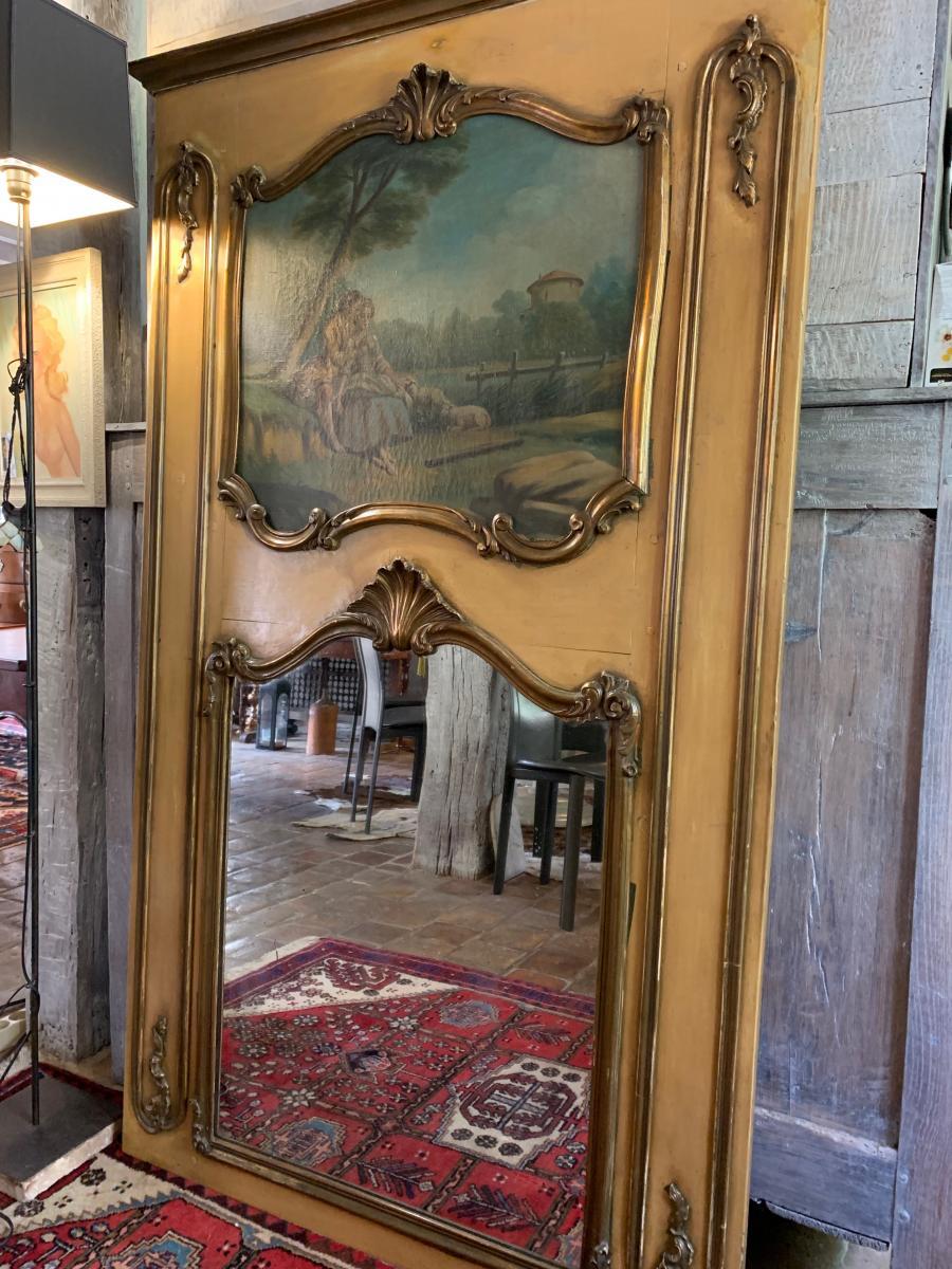 Trumeau De Style Louis XV