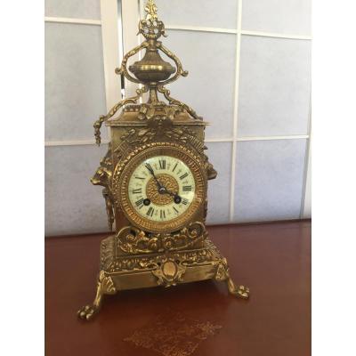 Pendule Bronze XIX°